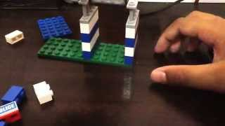 How to make a mini Lego police station