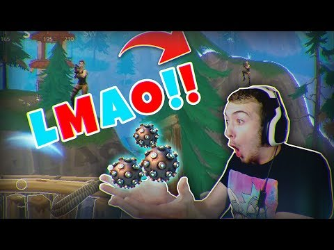 IMPULSED OFF THE MOUNTAIN FOR THE WIN! (Funny Fortnite Moments)