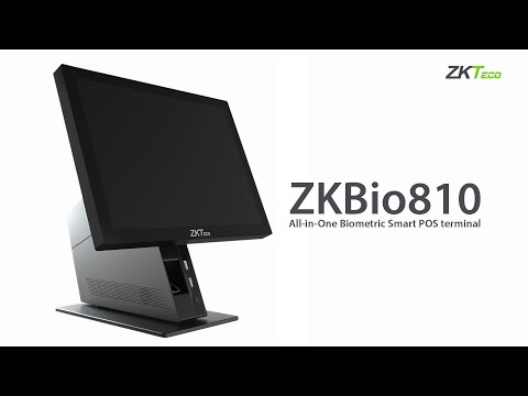 ZKBio810 - All-in-One Biometric Smart POS Terminal