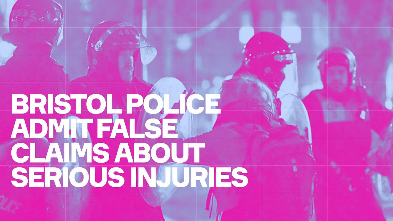 Bristol Police Admit False Claims About Serious Injuries