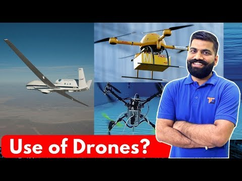 Top 10 Drone Applications – Underwater Drones – Drones in India?