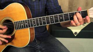 The Beatles - Eleanor Rigby - Guitar Lessons - Acoustic Guitar - How to Play on Guitar