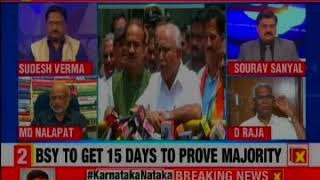 Karnataka Results 2018: BSY to swear in tomorrow; BJP coup stumps down Congress and JDS