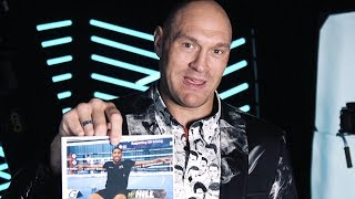 This is Tyson Fury's guide to the heavyweight division | Wilder, Joshua, Ruiz, Schwarz...