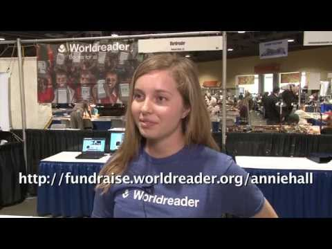 CoinWeek: Worldreader Charity Attends the Long Beach Coin Expo. VIDEO: 3:00.