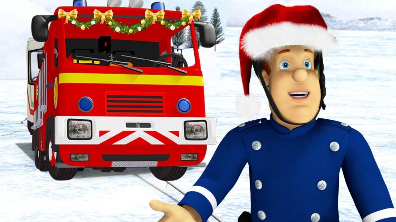 Sam a tűzoltó | Mikulás a vízben 🎁 Karácsony | 1 óra  összeállítás ⛄ Sam a tűzoltó Mese