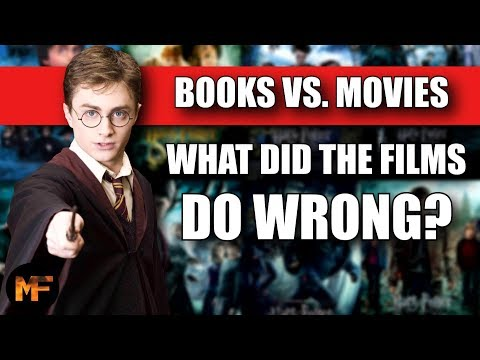 Top 10 Differences Between the HP Books and Movies (What Did the Films Do Wrong?)