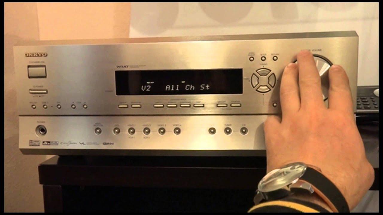 ONKYO TX-SR502 6 1 Chn AV Surround Receiver (525W 8 Ohms) by