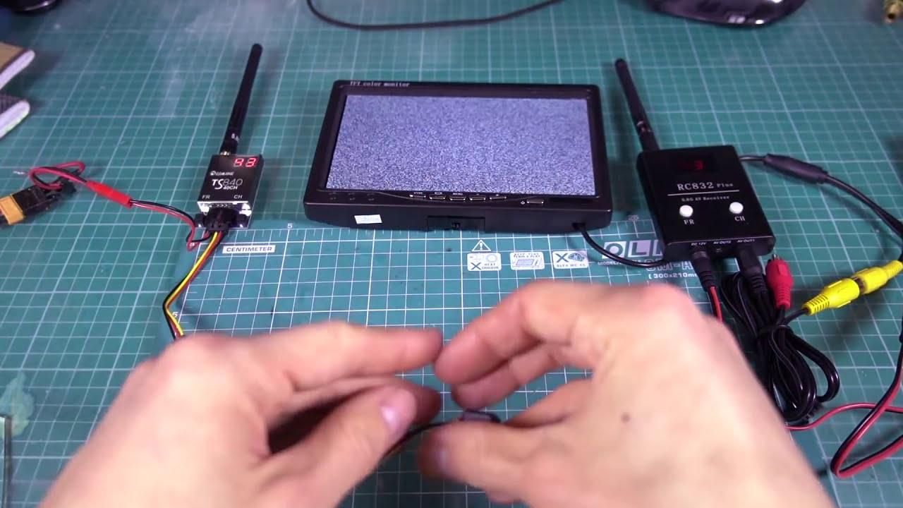 Большой обзор FPV систем для квадрокоптера фотки