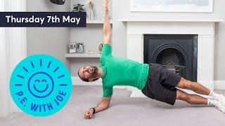 PE With Joe | Thursday 7th May