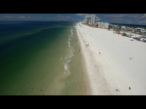 Gulf Shores, Alabama (Aerial Video)