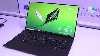 Acer Swift 7 edizione 2019 SF714-52T con Intel Amber Lake - fanless ed ultrasottile ITA