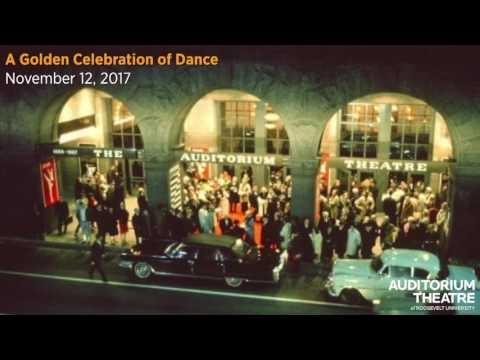 A Golden Celebration of Dance | 2017-18 Season | Auditorium Theatre