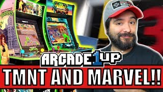NEW Arcade1up Announced at E3 2019! TMNT and Marvel!