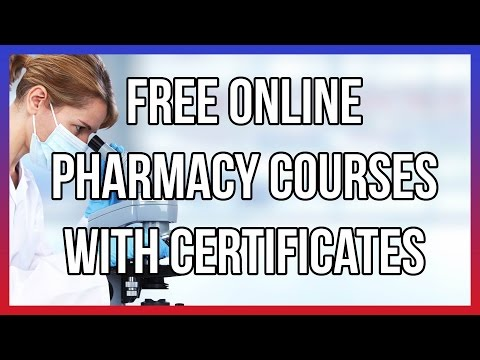 Free Online Pharmacy Courses With Certificates