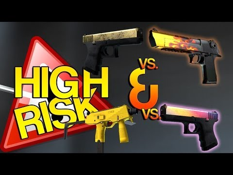 CS:GO - HIGH RISK - Trade up Contract (x2)