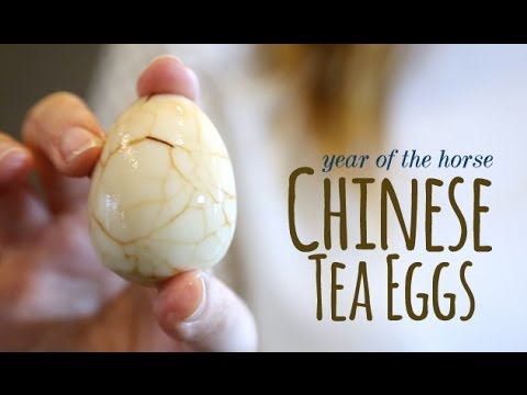How To Make Chinese New Year Tea Eggs: Cooking With Kids - Chinese New Year Craft | One Hungry Mama