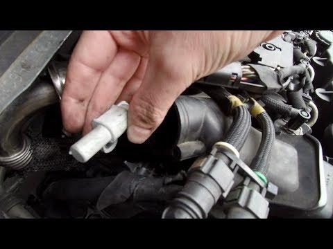 Peugeot 207 1.6 HDI - Changement capteur de position d'arbre à cames