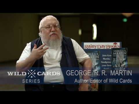 George R.R. Martin, Melinda Snodgrass and team on the Wild Cards Series