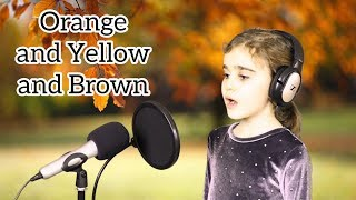 'Orange and Yellow and Brown' by Lin Marsh. Singing Grade Song. * paraparaparakeet *