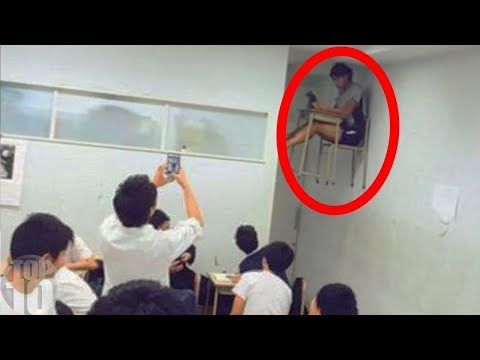 10 Scary Videos Caught in Schools