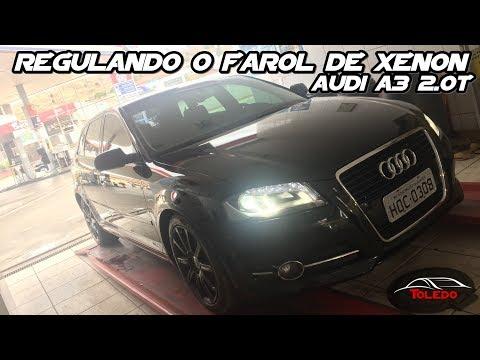 Regulagem do Farol de Xenon - Audi A3 Sportback 2.0T 2011 8P
