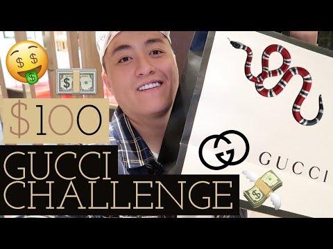 Mua Gì Với 100$ Tại Gucci - Tips Vệ Sinh Giày ( $100 Gucci Challenge)