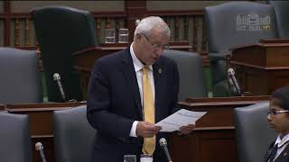 Fedeli reads petition on hunting, fishing licences Oct. 25, 2017