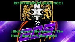 Resultados de NXT UK y 205 Live 29/Julio/2021 (¡Moustache Mountain vs The Hunt, Raaj vs Hale y más!)