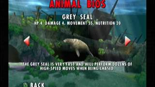 Jaws Unleashed - All Animal Bios
