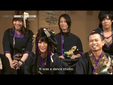 "Wagakki Band (和楽器バンド) in ""Entertainment Nippon"" on NHK World (2015)"
