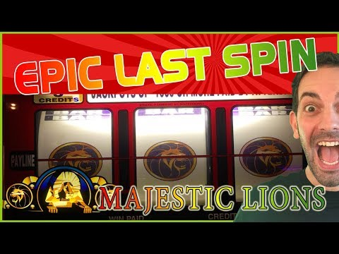 😺💥 EPIC LAST SPIN ✦ High Limit VP + Majestic Lions + MORE ✦