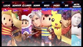 Super Smash Bros Ultimate Amiibo Fights   Request #8425 Team Lucas vs Team Ness