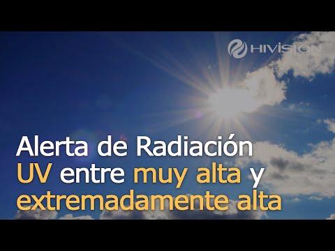 Alerta de Radiación UV muy alta
