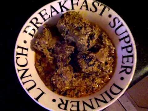How to cook Nigerian Bitter Leaf Soup (Onugbu Soup) 7 of 7