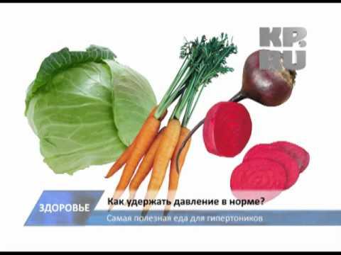 Самые полезные продукты для гипертоников