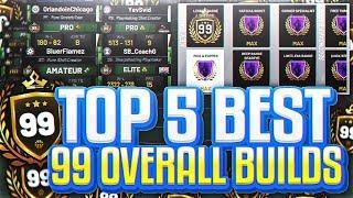 TOP 5 BEST 99 OVERALL BUILDS - NBA 2K19