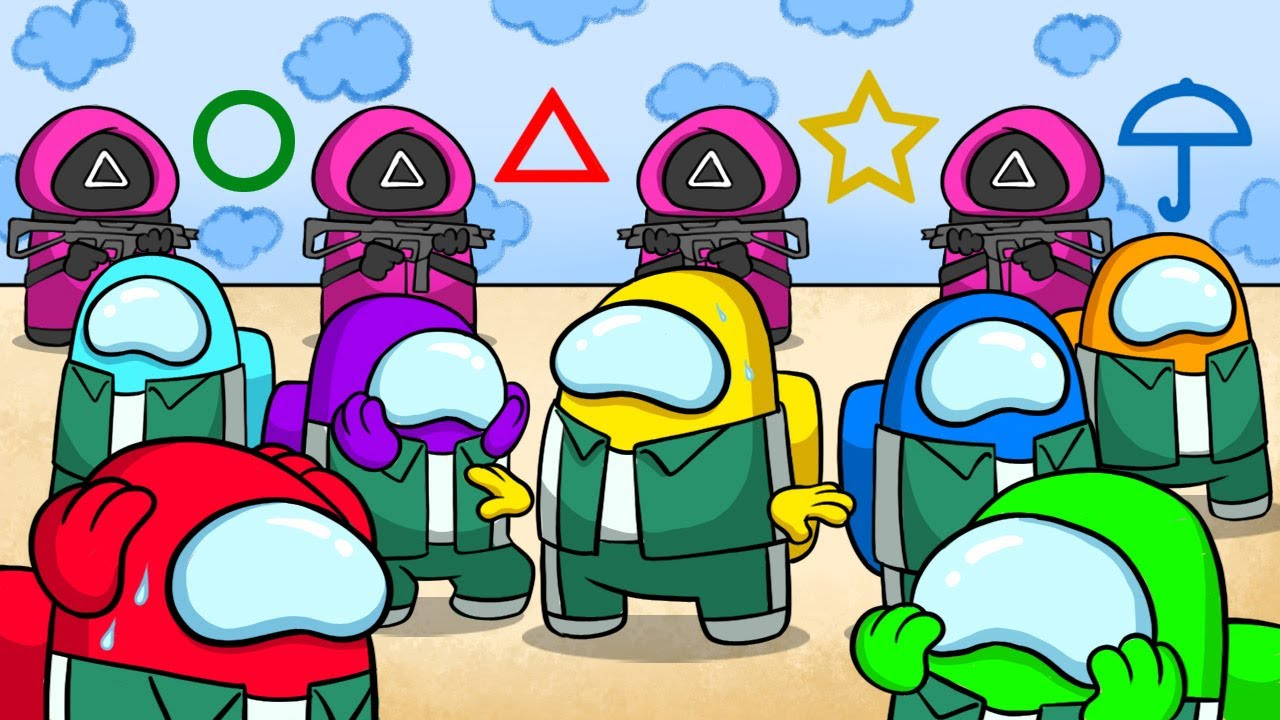 Download Among Us: Squid Games Cartoon Animation