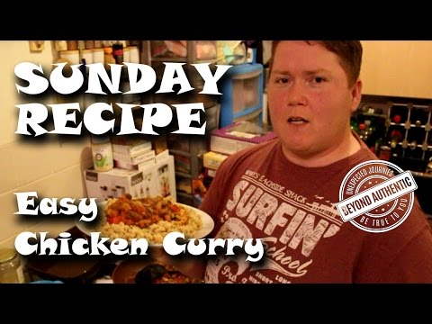 SUNDAY RECIPE  - Slimming World - EASY CHICKEN CURRY SYN FREE & EESP