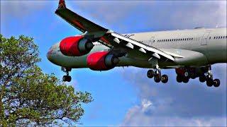 Morning Heavy Arrivals at London Heathrow Airport | 25/04/18