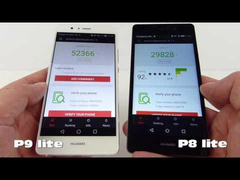 Huawei P9 lite versus Huawei P8 lite