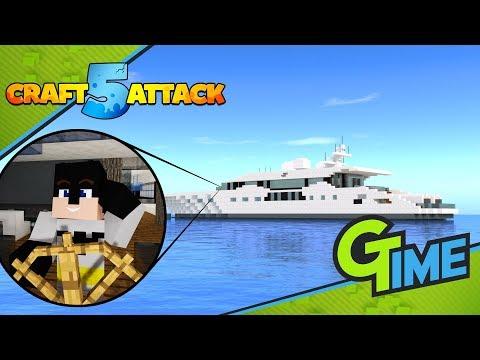 Meine EIGENE ULTIMATIVE LUXUS YACHT?! - Minecraft Craft Attack 5 #39 | Gamerstime