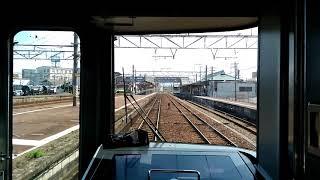 【ものすごいディーゼル車超高馬力で120キロで関西本線を爆走 快速みえ 桑名~四日市】