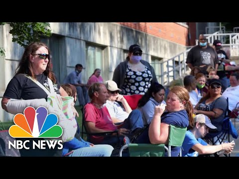 Unemployment Claims Rise As Sluggish Jobs Recovery Continues | NBC News NOW
