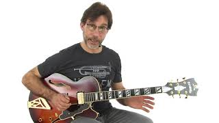 Jazz Blues Guitar Lesson - Track 2 Bb Blues: Three Lick Ideas Demo - Frank Vignola