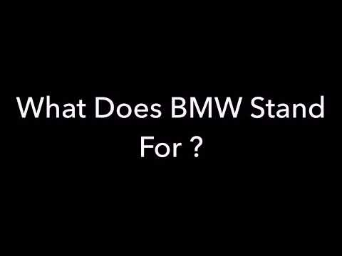 What Does Bmw Mean Sexually