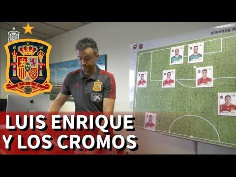 Luis Enrique inventa de nuevo: dio la lista con cromos |Diario As
