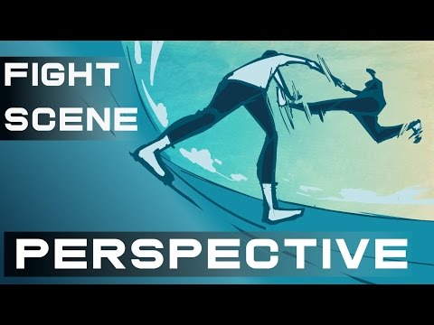 Anime Fight Scene Tutorial | Poses With Perspective
