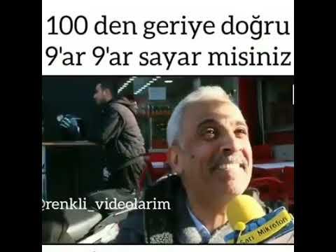 100 DEN GERİ 9 AR SAYMA