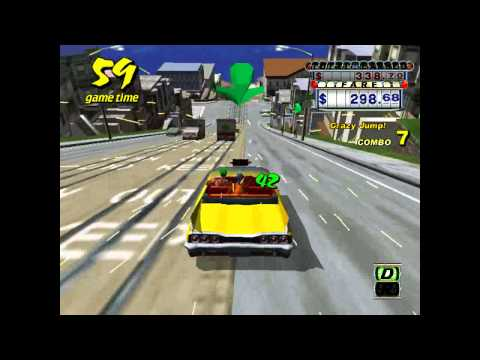 Crazy Taxi (DC) - Theme Song (All I want by Offspring)